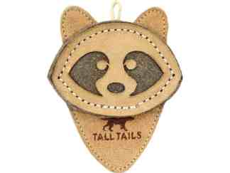 Tall Tails Leather Scrappy Critter Raccoon
